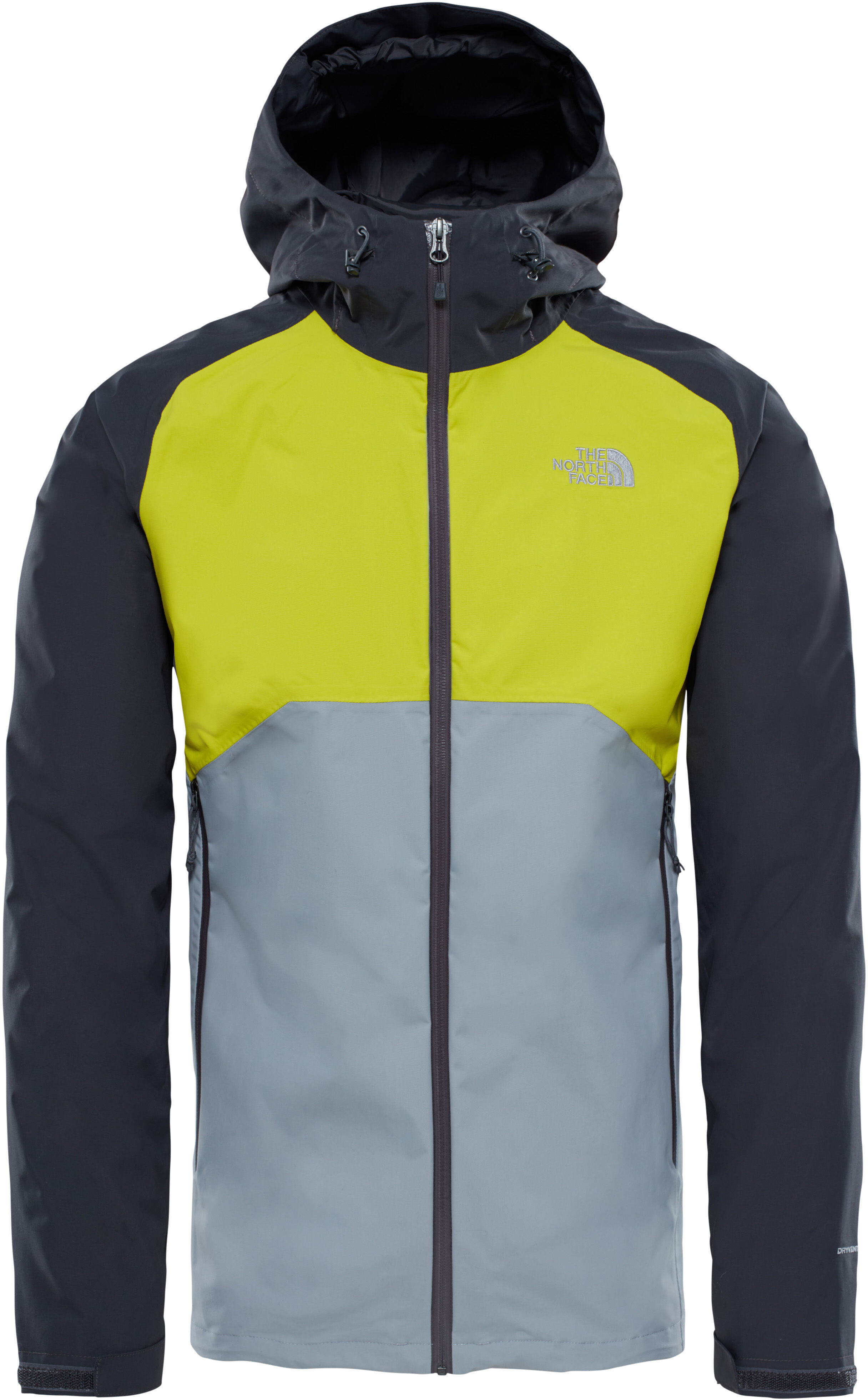 The North Face Stratos Jacket Men grey green at Addnature.co.uk ce593bbfe